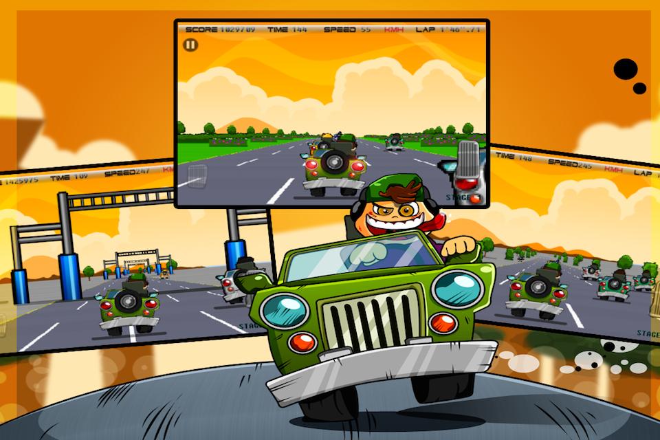 Screenshot Cool Racers Pro